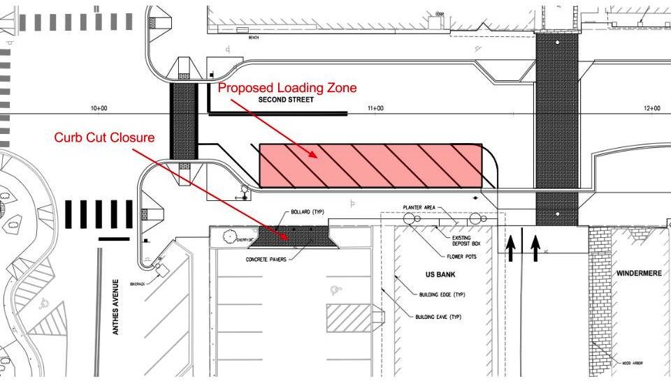 Second Street Loading Zone Designlangley