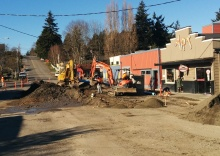 second street construction photo 2
