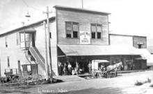Langley_Mercantile_Post Office_1913